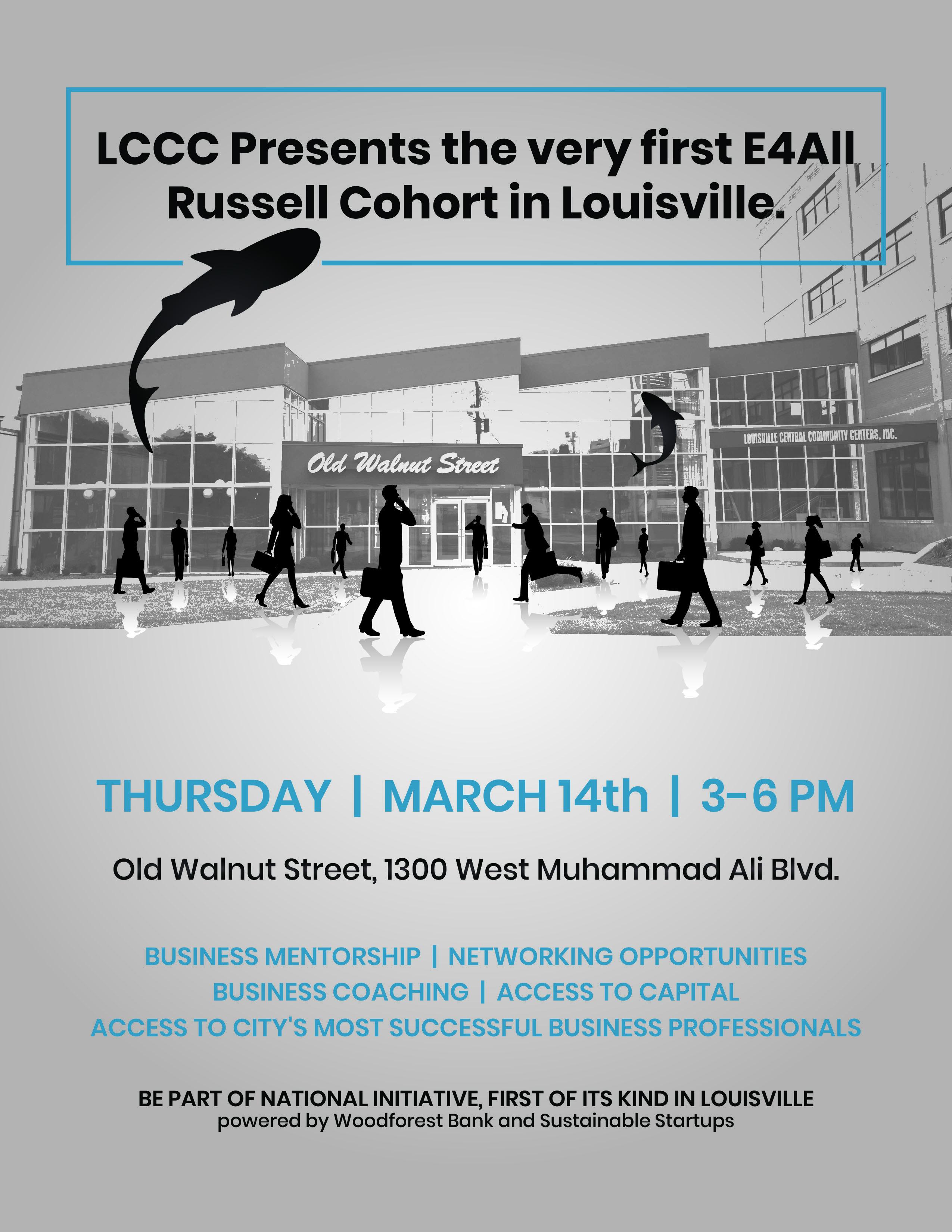 Entrepreneurship 4 All (E4All) Louisville Kickoff