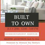 Built to Own: Homeownership Seminar