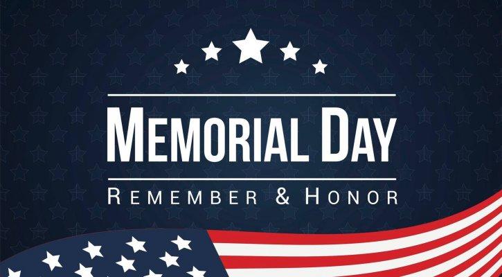 2020 Memorial Day Closing